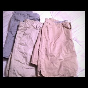 Pants - Bundle! Two shorts and a skirt
